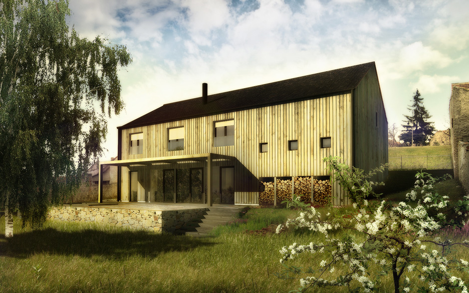 mimosa-vraný-dům-na-vesnici-kámen-dřevo-1